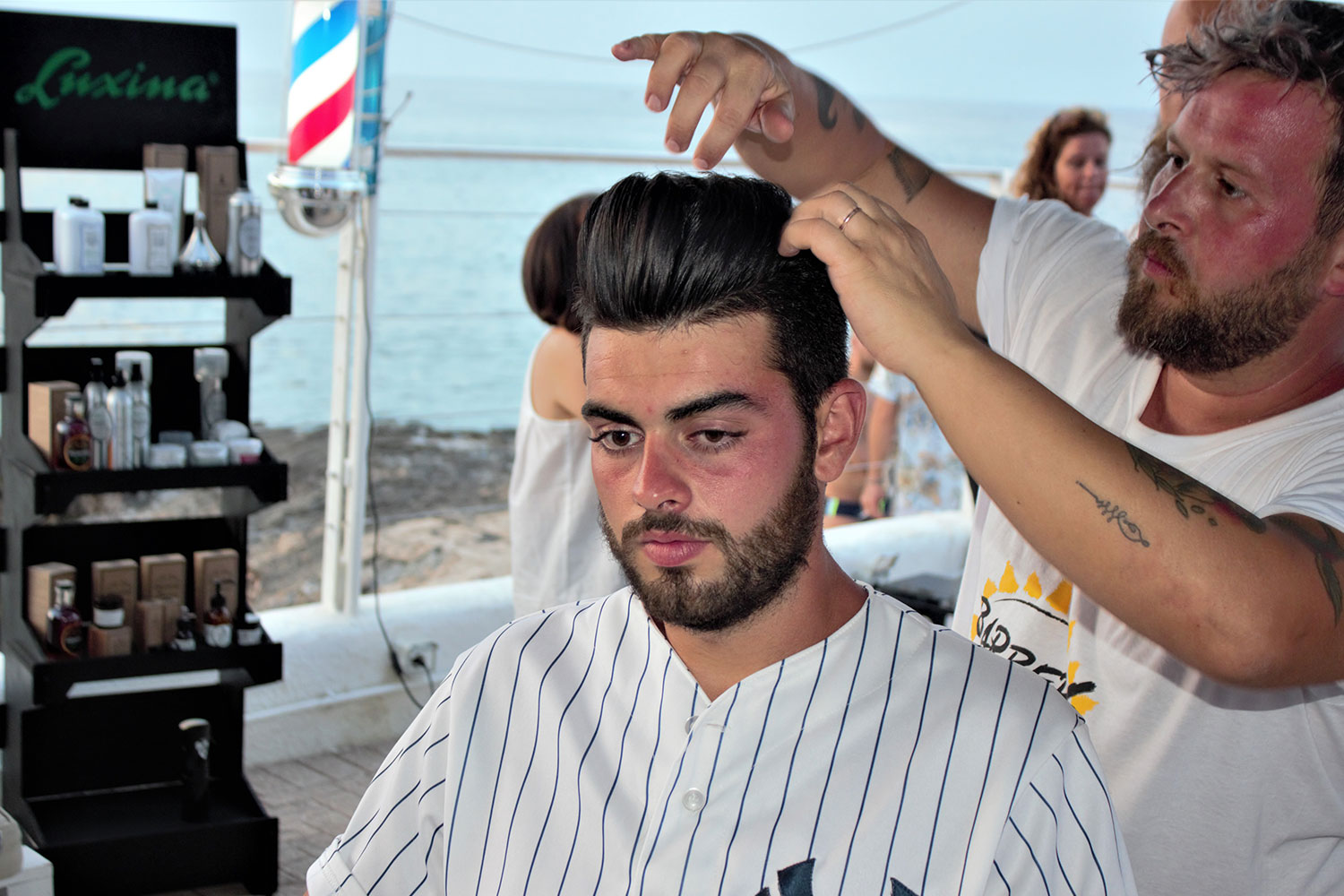 Barbers on the Sea