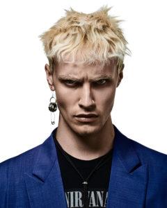 capelli colorati uomo