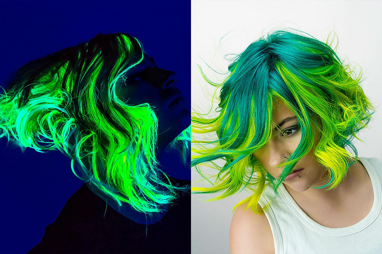 Neonhair