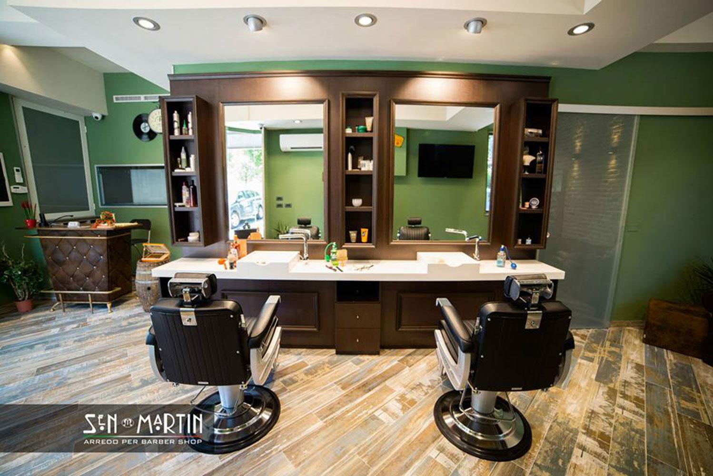 Sen martin l 39 arredamento per barber shop che unisce stile for Sen martin arredo per barber shop
