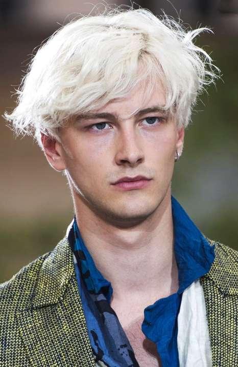 Tagli capelli uomo biondi
