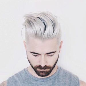 capelli-platino-barba-2017