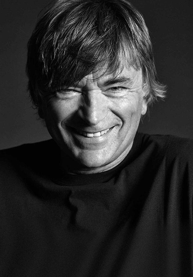 James Longagnani, partner di Wella Professional e fondatore del marchio James Hairfashion CLUB e dell'accademia James Training Center a Reggio Emilia.
